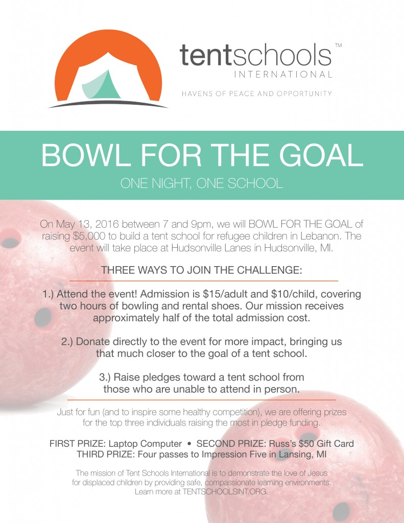 TSI bowling pledge flyer